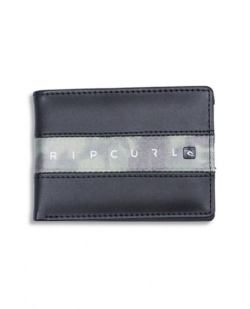 RIP CURL MENS WALLET.BLOCKADE SLIM BROWN FAUX LEATHER CARD COIN PURSE 8W S2 60